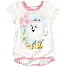 Illumination Entertainment The Secret Life Of Pets Gidget Cutout Back T-Shirt - Girls Size:6 Runs Small