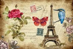 Wallpapers Tema Paris, ficariam lindos como quadrinhos.