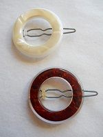 1960's French made barrettes