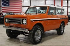 GR Auto Gallery is pleased to offer this highly original 1979 International Scout II. International Scout Ii, Cars For Sale, Wine Cellars, Guns, Trucks, Paint, Orange, Street Rods, Weapons Guns