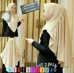 How To Wear Hijab, How To Wear Scarves, Hijab Style Dress, Hijab Outfit, Muslim Fashion, Hijab Fashion, Hijabi Gowns, Instant Hijab, Kebaya Hijab