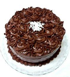 Torta de chocolate e coco