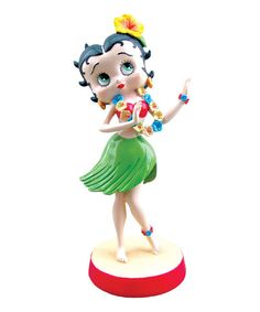 Look at this Hula Time Bobble Figurine on #zulily today!