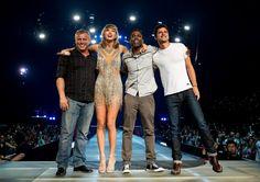 Pin for Later: Retour sur Tous les Invités Surprises de Taylor Swift Chris Rock