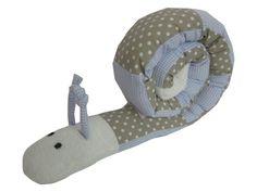 Puckschnecke - Nestchen - Lagerungskissen von Me Kinderkleidung auf DaWanda.com Diese Schnecke finde ich einfach toll und so flexibel einsetzbar - KLASSE ♥