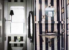 Atemporal, chique e sofisticada, a decoração em preto e branco nunca sai de moda e pode ir de pisos e paredes a mobiliário e objetos de decoração.