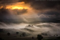 Waves of fog by Alberto Ghizzi Panizza