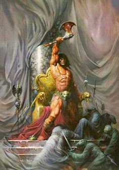 m Barbarian underdark Shrine clerics story The Geeky Nerfherder: Happy Birthday Robert E Howard Deviant Art, Dark Fantasy, Conan Der Barbar, Robert E Howard, Conan The Conqueror, Conan Comics, Conan The Barbarian, Sword And Sorcery, Fantasy Kunst