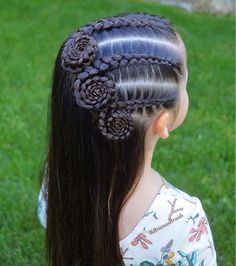 In love with this Dutch braid swirl style by ❤️? In love with this Dutch braid swirl style by ❤️? Childrens Hairstyles, Little Girl Hairstyles, Up Hairstyles, Braided Hairstyles, Teenage Hairstyles, Boy Haircuts, Braids For Short Hair, Girl Short Hair, Braid Hair