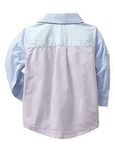 Colorblock shirt | Gap