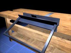 DIY Home Workshop Sheet Metal Brake (Bender) - YouTube