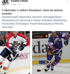 Secrets about NHL top player Jozef Stumpel