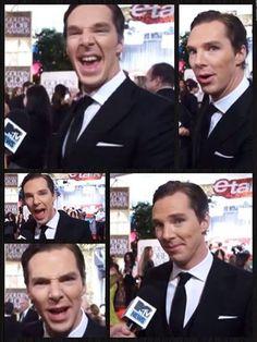 Benedict Cumberbatch - I love the Smaug impression :)