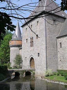 Solre-sur-Sambre Castle, Erquelinnes, Belgium.