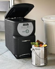 I Didnt Know A Composter Machine Like This Existed Pretty Cool For Small E Condo Or Apartment Maybe Next Year