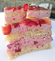 Different Cakes, Vanilla Cake, Sandwiches, Desserts, Food, Pineapple, Tailgate Desserts, Deserts, Essen