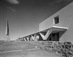 Marcel Breuer Annunciation Monastery, Bismarck, North Dakota, 1963
