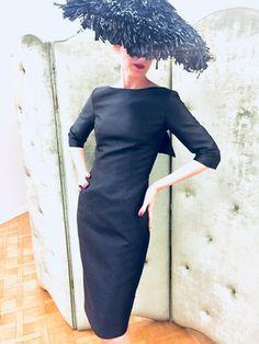 Style Doukissa Aw 2018, High Neck Dress, Glamour, Image, Dresses, Fashion, Turtleneck Dress, Vestidos, Moda