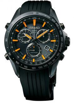 Neu in der Seiko-Kollektion 2014: Der Astron GPS Solar Chronograph