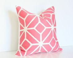 pretty pink pillow.