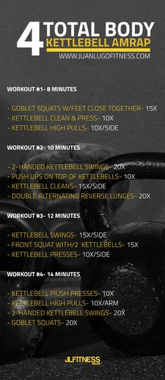 Total Body KB AMRAP Workout | Posted by: AdvancedWeightLossTips.com