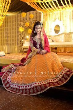 Mehndi dresss