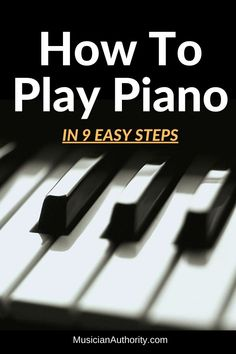 Learn how to play piano with these simple beginning piano tips. Before you start playing your favorite piano songs, use these tips to become a better piano player. Piano Songs, Piano Music, Music Songs, Music Tabs, Learn Piano Beginner, Piano Lessons For Beginners, How To Learn Piano, Teach Yourself Piano, Reading Sheet Music