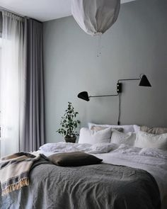 Home Interior Design my scandinavian home: A Swedish Interior Stylist and Photographer's Haven Swedish Bedroom, Scandinavian Bedroom, Scandinavian Apartment, Bedroom Decor For Couples, Bedroom Ideas, Bedroom Inspo, Bedroom Designs, Apartment Bedroom Decor, Bedroom Décor