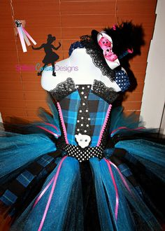 Monster High Blue and black costume by SofiasCoutureDesigns, $69.00