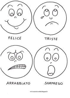 Muito boa esta ideia para trabalhar sentimentos e emoções com os alunos   Cada criança poderá construir seu fantoche, colando as part... English Activities, Preschool Activities, Art For Kids, Crafts For Kids, Fruit Crafts, Cartoon Faces, Feelings And Emotions, Emoticon, In Kindergarten