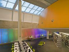 The Poplar Creek Public Library - Frye Gillan Molinaro Architects - Streamwood, IL, USA - 2009
