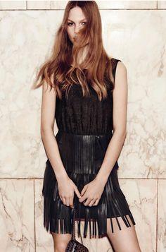Annika Krijt for LIU JO Fall Winter 2015 Lookbook Photoshoot