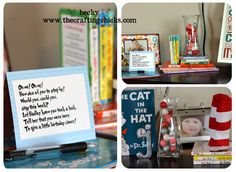 Dr. Seuss #Birthday Party ideas by #thecraftingchicks