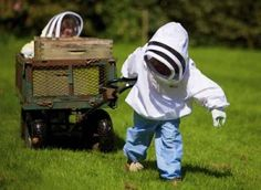 Children and Beekeeping. Maybe my grandchildren some day