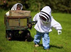 Children and Beekeeping. Maybe my grandchildren some day