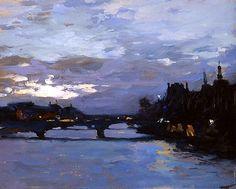 Evening above Siena Peter Bezrukov