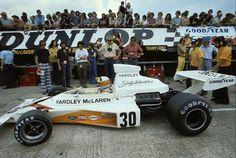 1973 Jody Scheckter, Yardley McLaren-Ford M23A,