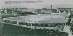 Legnano, Stadio G. Mari durante il derby contro la Pro Patria, 1939-40