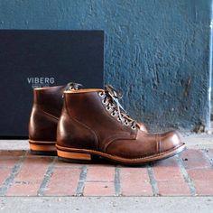 Viberg Service Boot Vintage Mocca