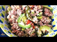 Ginisang Ampalaya with Chicken Giniling - YouTube Healthy Food Recipes, Beef, Chicken, Youtube, Meat, Healthy Recipes, Healthy Cooking Recipes, Healthy Eating Recipes, Youtubers