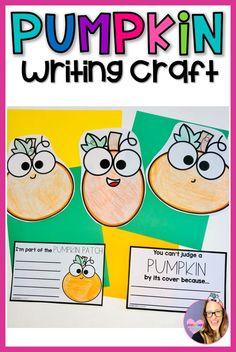 Fall Bulletin Boards, Elementary Teacher, A Pumpkin, Summer Activities, Classroom Decor, Teacher Resources, Kindergarten, Education, Writing