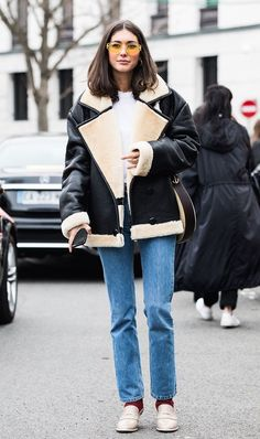 Here are 11 outfits to wear in 50-degree weather, plus cozy fall pieces to shop now.
