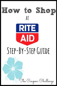 Do you want to learn how to save money shopping at Rite Aid Drugstore?  Read for these tips to shopping at Rite Aid including explanations on the latest programs.