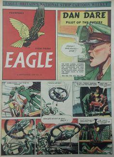 Dan Dare from Eagle Comic #22