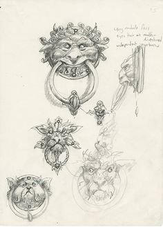 Victoria Woods Illustration : Character Development Research- Brian Froud