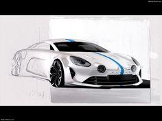 Alpine Vision Concept (2016) - Design Sketches - 32 of 38