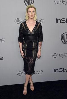 Ireland Baldwin attends the InStyle and Warner Bros. Golden Globes afterparty in Beverly Hills on Jan. 7, 2018.