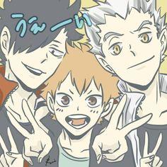 Our goal is to keep old friends, ex-classmates, neighbors and colleagues in touch. Haikyuu Ships, Haikyuu Fanart, Haikyuu Anime, Kuroo Tetsurou, Hinata Shouyou, Bokuaka, Memes, Kawaii Anime, Anime Guys