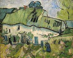 Vincent van Gogh, Bauernhof / Farm / Boerderij in Auvers-sur-Oise, 1890 (Van Gogh Museum, on loan in the Rijksmuseum Amsterdam)