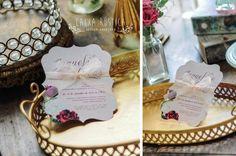 Caixa Rústica: Convite Sweet Boho  ▫️ Inove com a Caixa Rústica e surpreenda convidados!  ∴ Solicite seu orçamento! www.caixarustica.com  #convite #casamento #classic #classico #invitation #wedding #papelaria #vintage #floral #boho